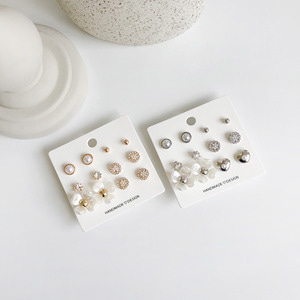 Flower set earring